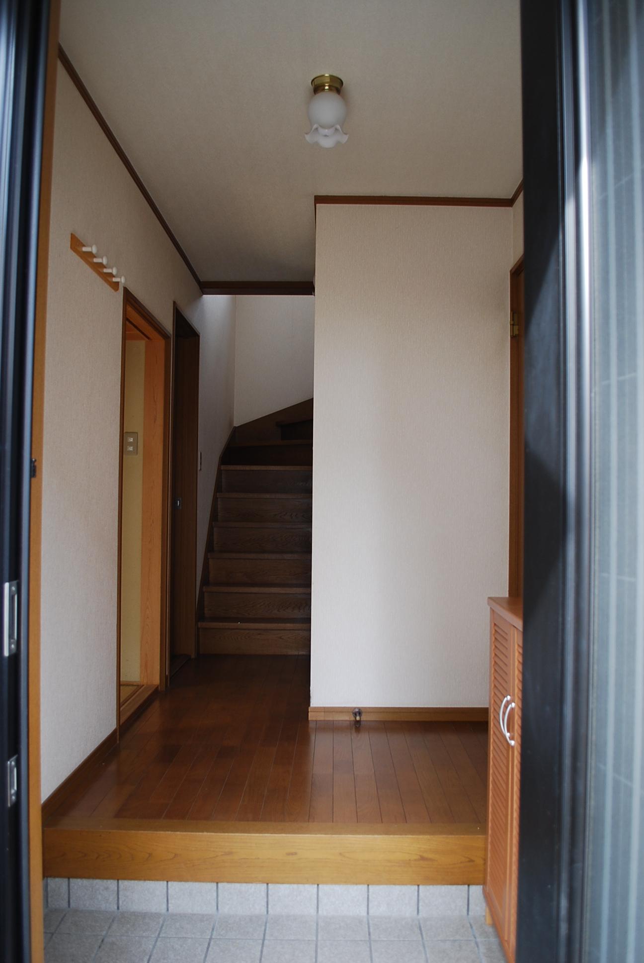 玄関リフォームbofore