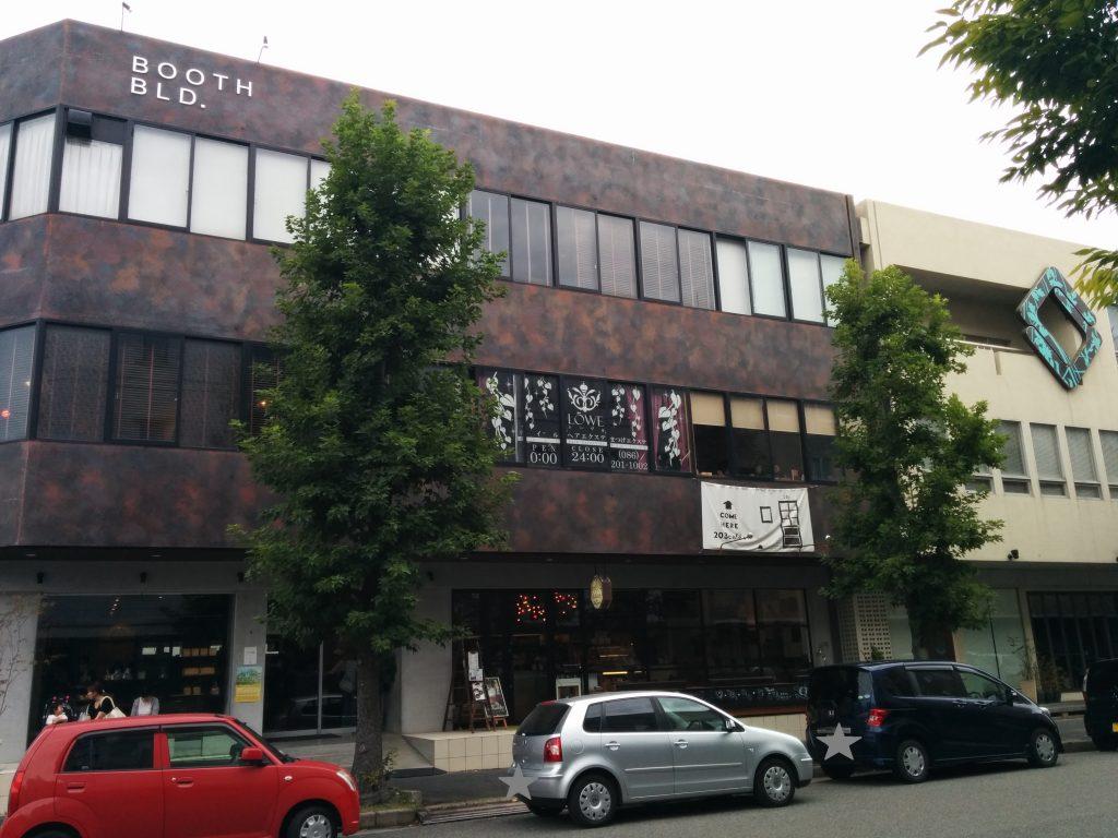 1Fテナントの建物