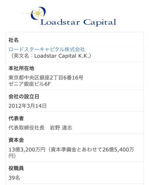 オーナーズブックOwnersBookの運営会社、ロードスターキャピタル株式会社