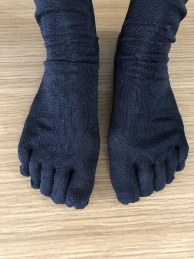 かぐれ冷えとり靴下